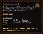 Shissar Longsword