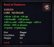 Band of Darkness