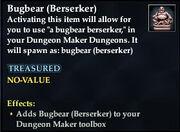 Bugbear (Berserker)