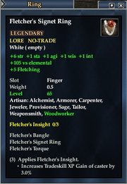 Fletcher's Signet Ring