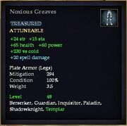 Noxious Greaves
