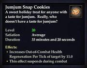 Jumjum Snap Cookies