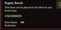 Pygmy Bench