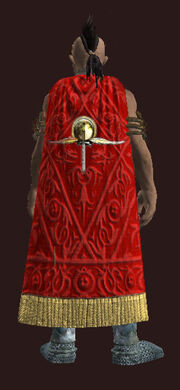 Craftsmans Cloak of the Far Seas.Equipped