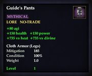 Guide's Pants