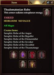 Thudomatonian Robe