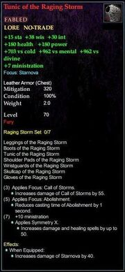 Tunic of the Raging Storm