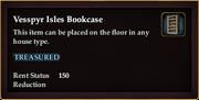 Vesspyr Isles Bookcase (Examine)