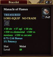 Manacle of Flames