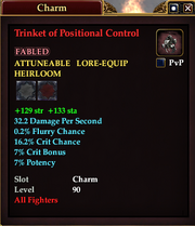 Trinket of Positional Control