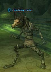 A Blackfang warder