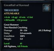 Greatflail of Kavruul