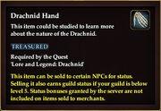 Drachnid Hand