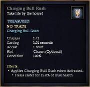 Charging Bull Rush