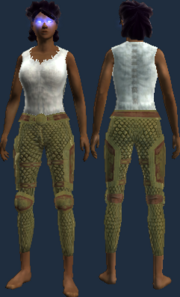 Invigorated Yothshaval Chain Leggings (Visible)