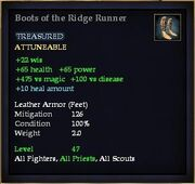 Boots of the Ridge Runner