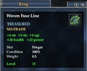 Woven Fuse Line