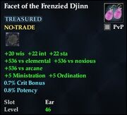Facet of the Frenzied Djinn