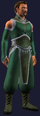 Green fancy dress (Visible, Male)