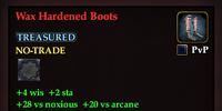 Wax Hardened Boots
