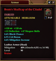 Brute's Skullcap of the Citadel