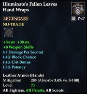 Illuminate's Fallen Leaves Hand Wraps