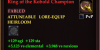 Ring of the Kobold Champion