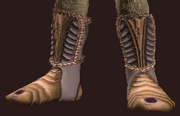 Slippers of Militia Service (Equipped)