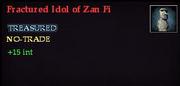 Fractured Idol of Zan Fi