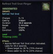 Refined Troll Snot Flinger