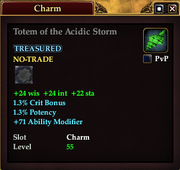 Totem of the Acidic Storm