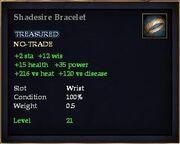 Shadesire Bracelet