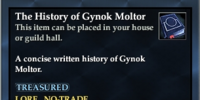 The History of Gynok Moltor