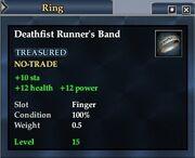 Deathfist Runner's Band