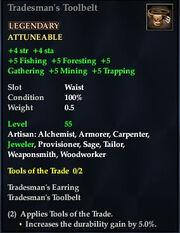 Tradesman's Toolbelt