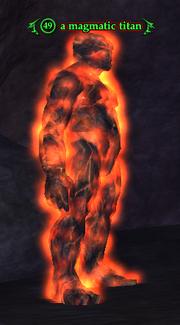 A magmatic titan