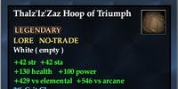 Thalz'Iz'Zaz Hoop of Triumph