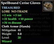 Spellbound Cerise Gloves