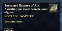 Encrusted Essence of Air