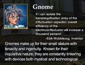 Gnome (Character Race)