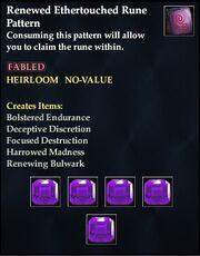 Renewed Ethertouched Rune Pattern