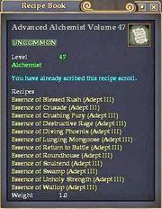 Advanced Alchemist Volume 47