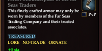Forest Shoulderpads of the Far Seas Traders
