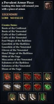 A Prevalent Armor Piece (Storm Gorge)