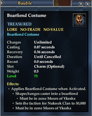 Boarfiend Costume
