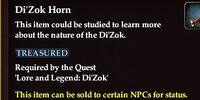 Di'Zok Horn