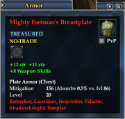Mighty Footman's Breastplate