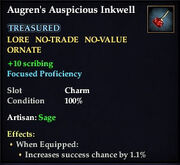Augren's Auspicous Inkwell