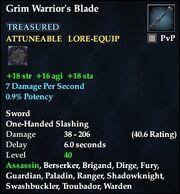 Grim Warrior's Blade (40)
