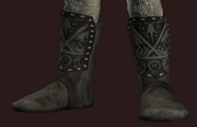 Midnight Boots of the Far Seas Traders (Equipped)